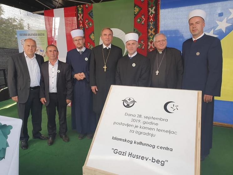 Klagenfurt Polozen Kamen Temeljac Za Izgradnju Islamskog Centra