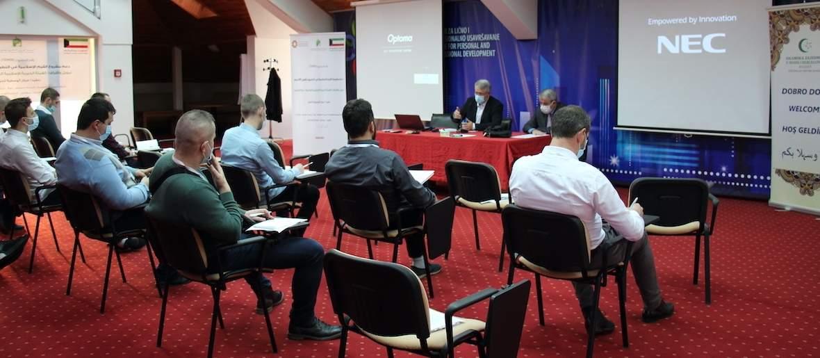 """IMG_2825.JPG - Održano predavanje na temu predavanje na temu """"Islamske vrijednosti u obrazovanju"""""""