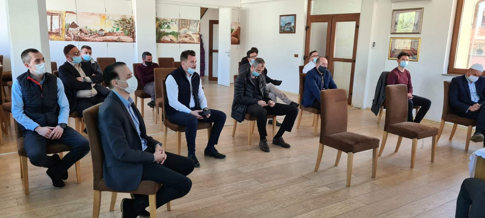 Muftija u Kiseljaku.jpg - Ef. Bašić: Za mene kao imama i vjernika je poniženje da me alkotestiraju