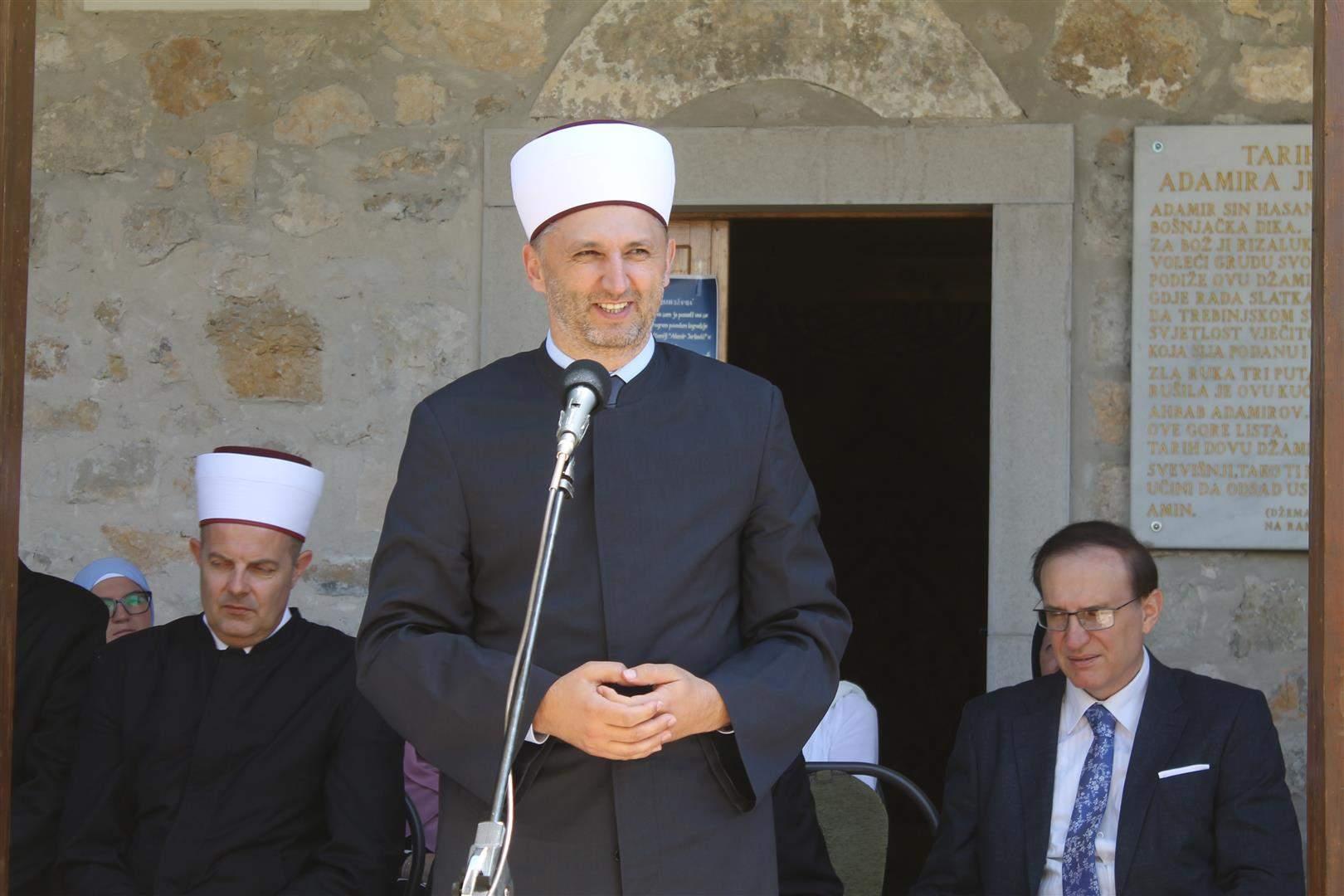 IMG_2605.JPG - Mevludskim programom obilježena izgradnja munare na džamiji